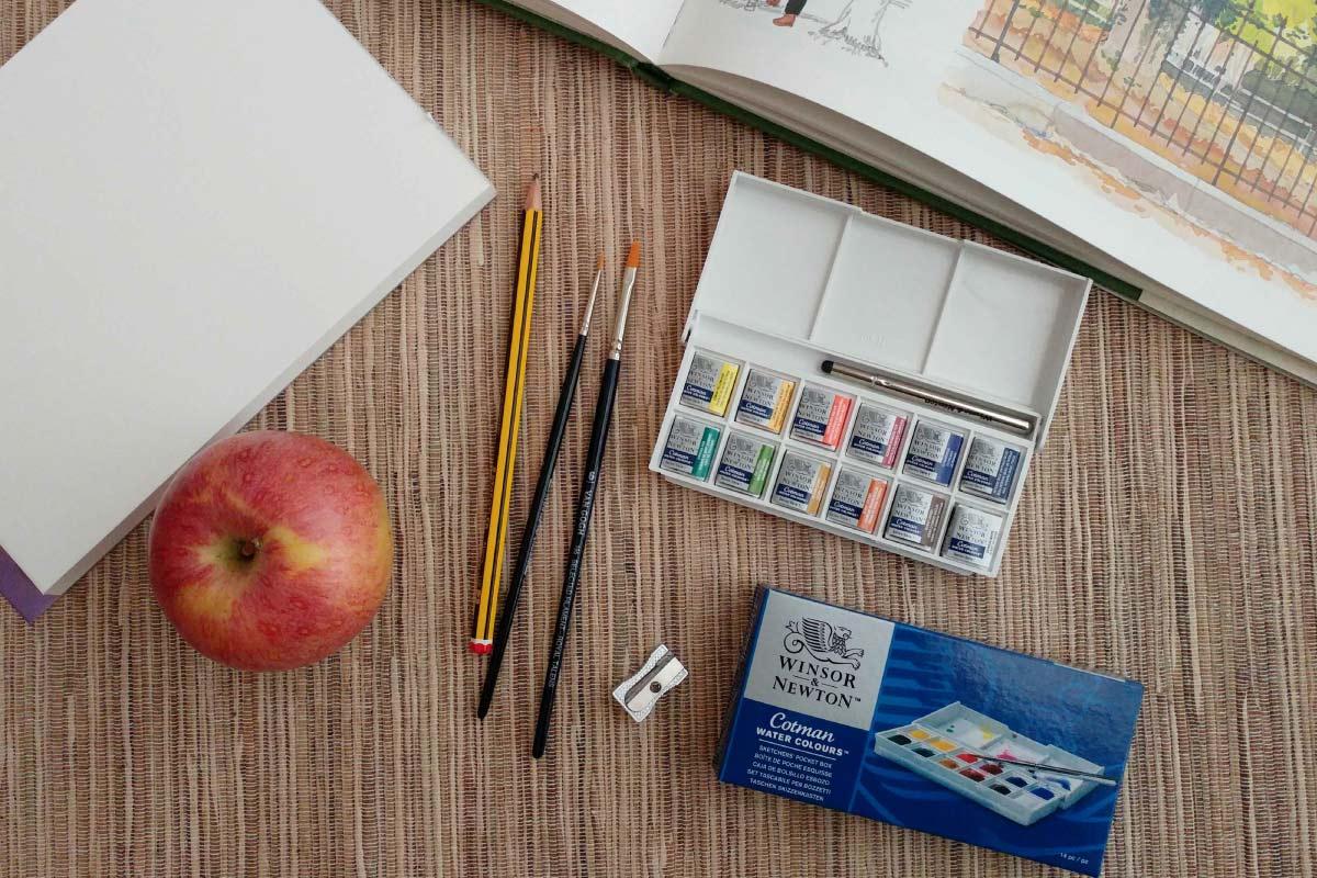 Watercolours Winsor And Newton Cotman 12 Colours Labois