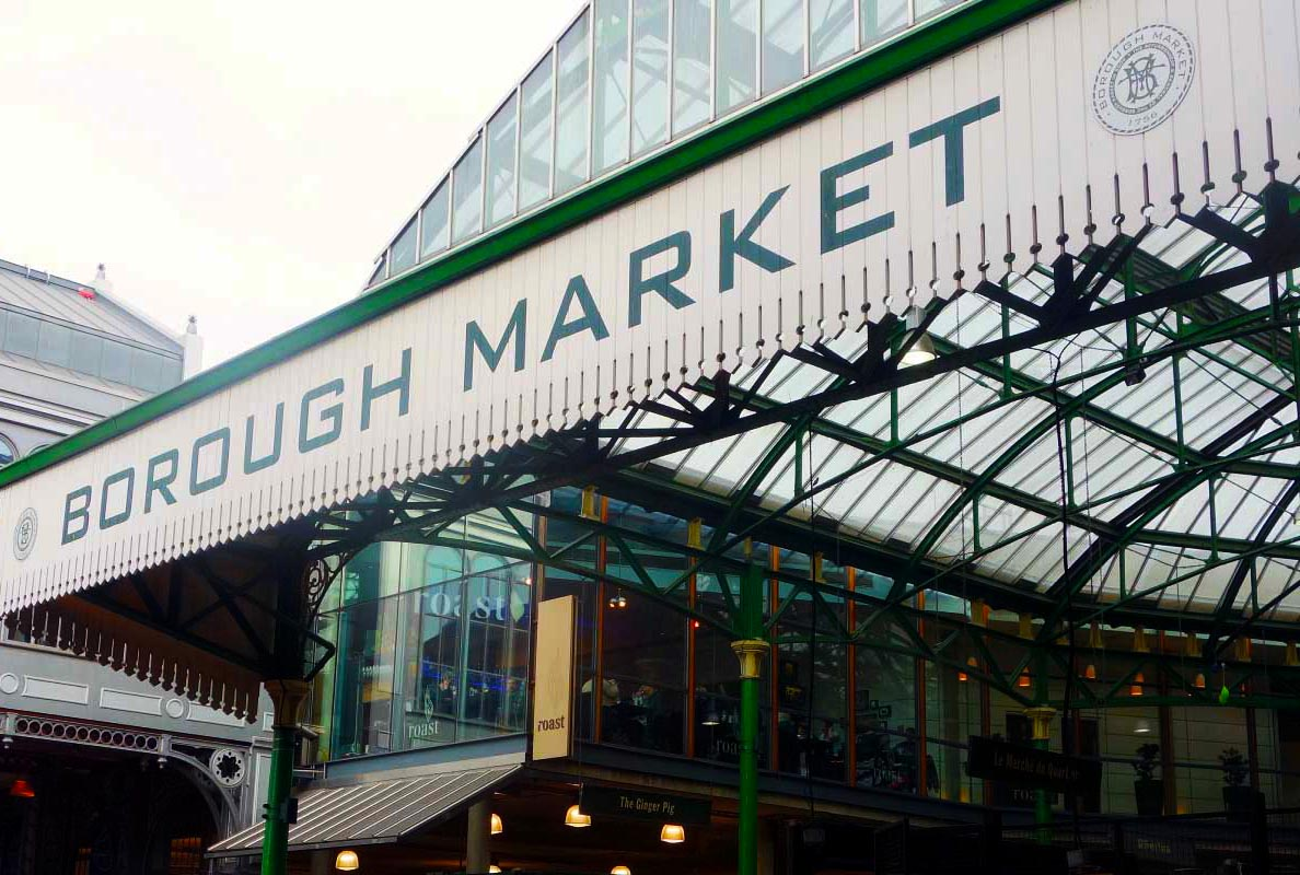 borough market de londres para foodes