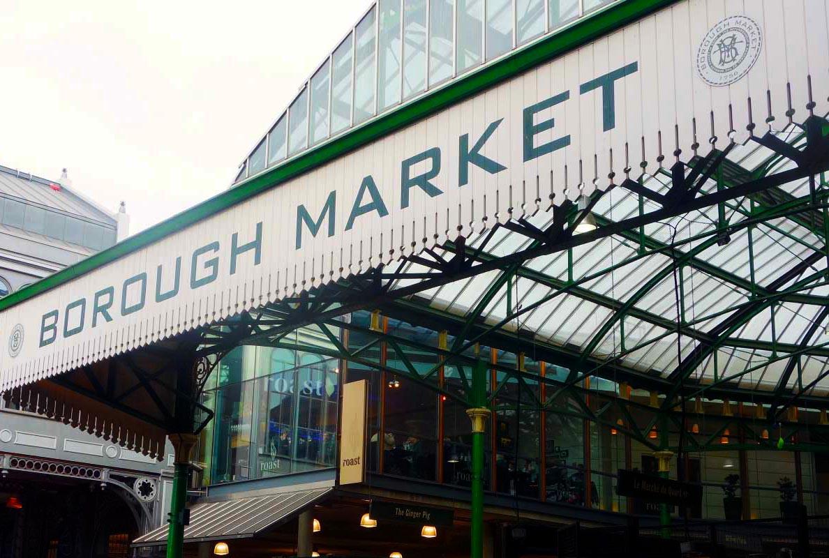 borough market de londres para foodes