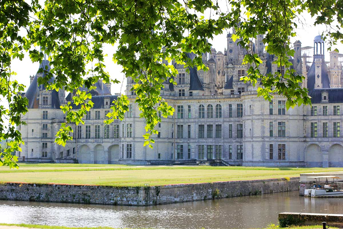 Route to the Pays de la Loire: Chambord