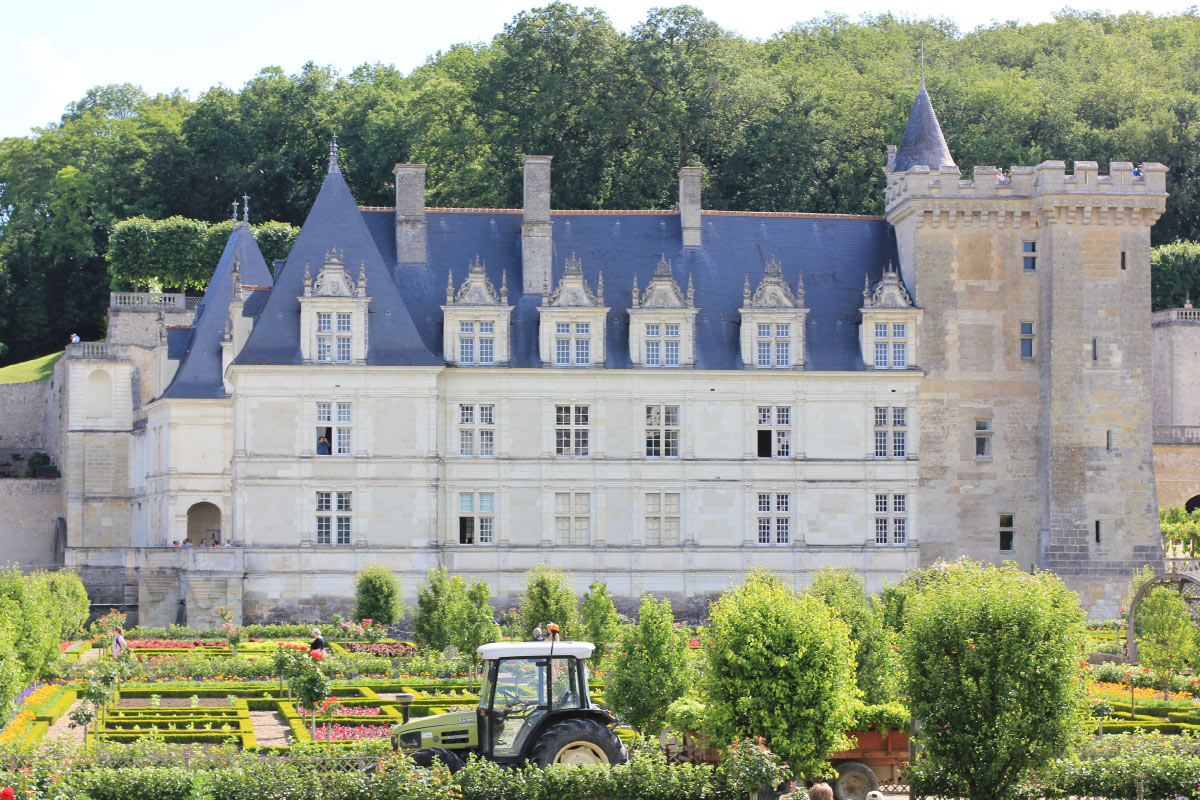 Route to the Pays de la Loire: the castle of Villandry
