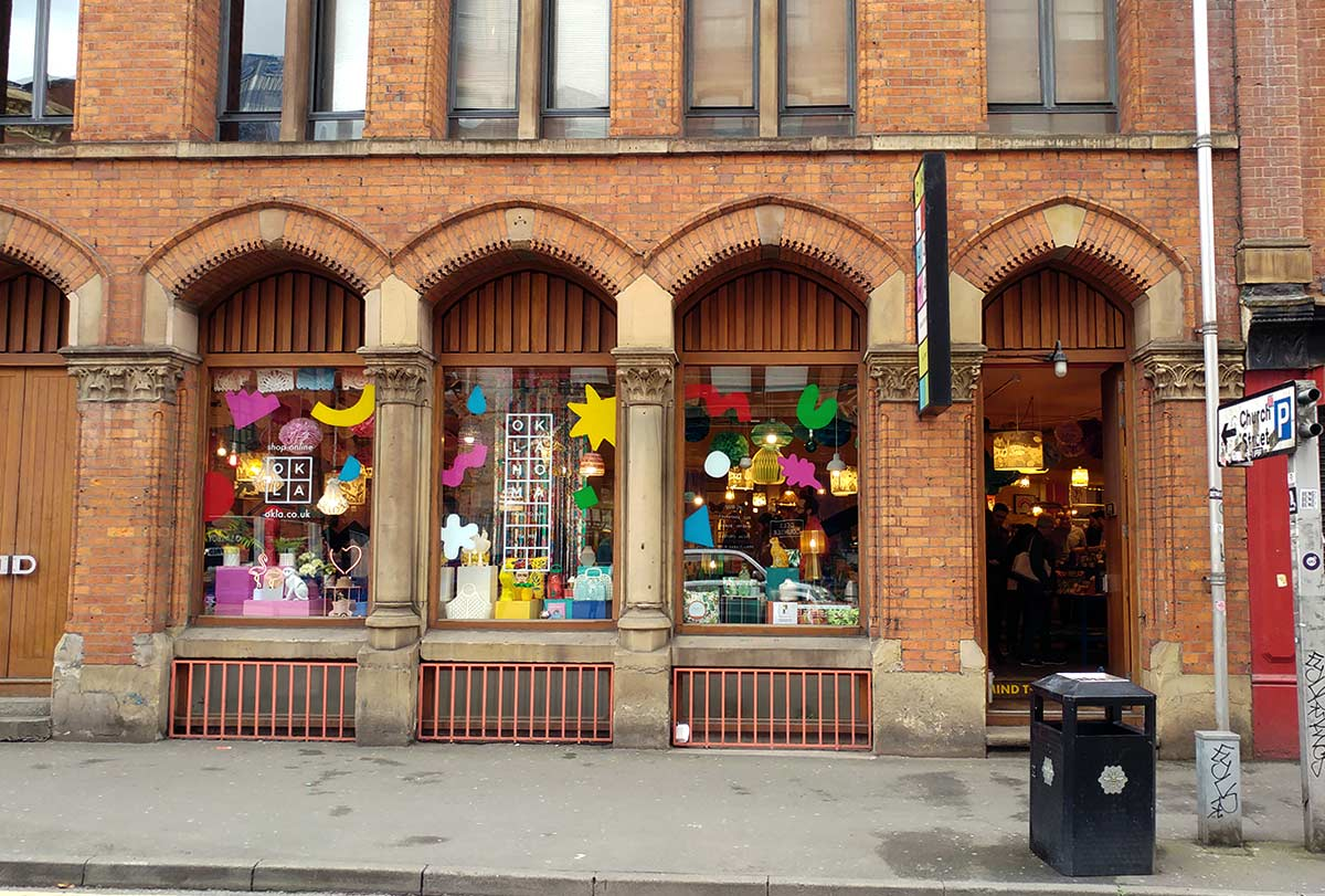 Craft shopping en Manchester